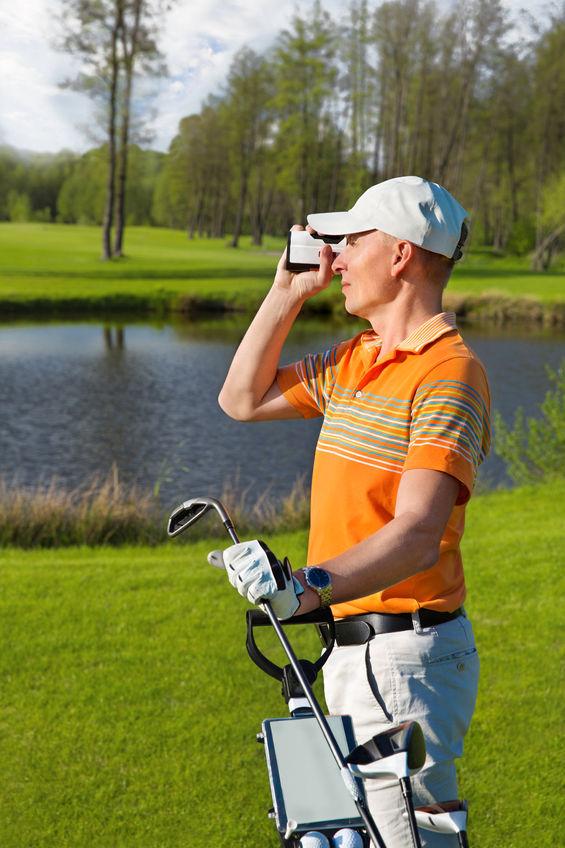 Golf afstandsmeter