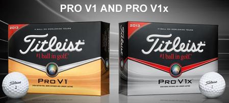 Titleist Pro V1 of Titleist Pro V1x