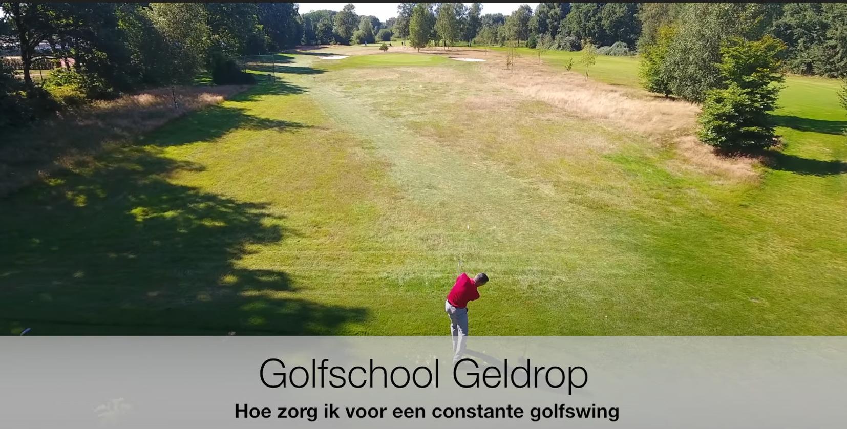 Constante golfswing