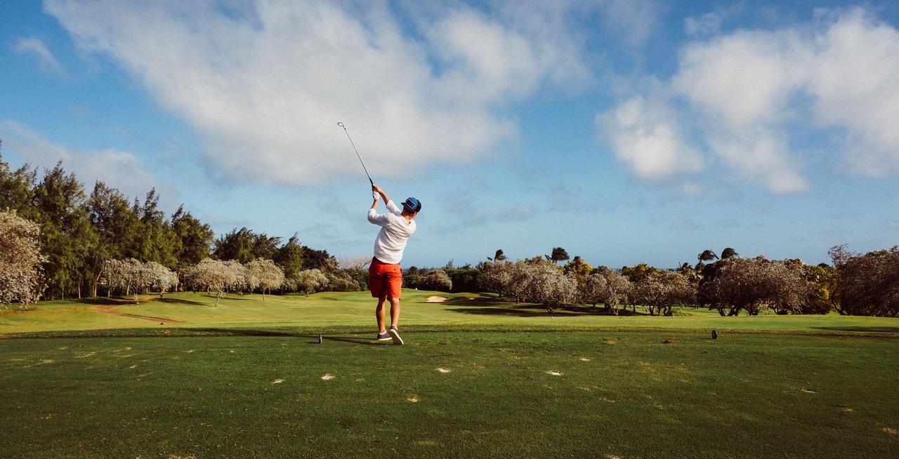 Vakantiepark met golfbaan