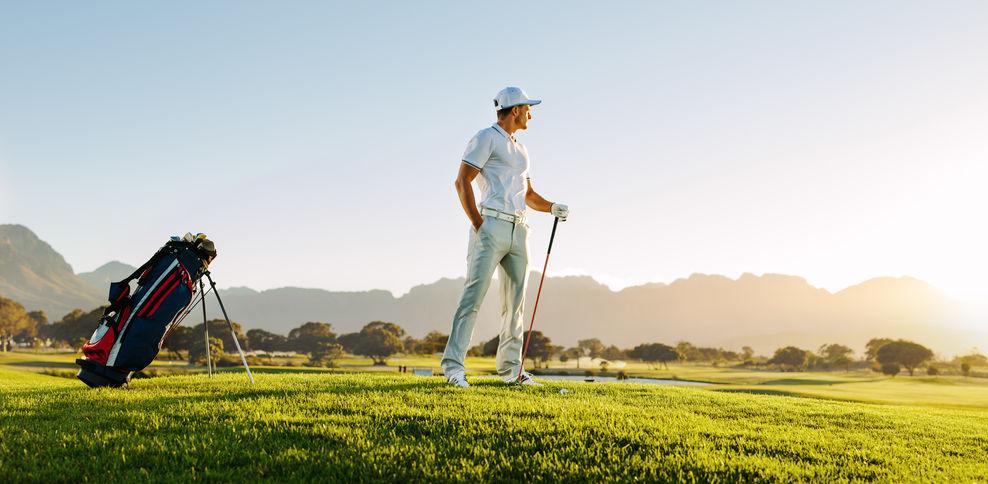 Heren golfkleding