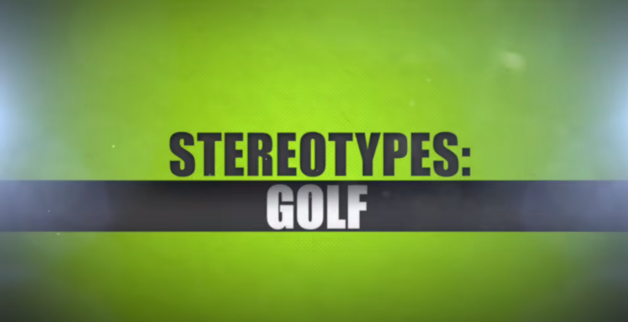 Stereotype golfers